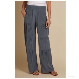 Soft Surroundings Silk Terrace Pants